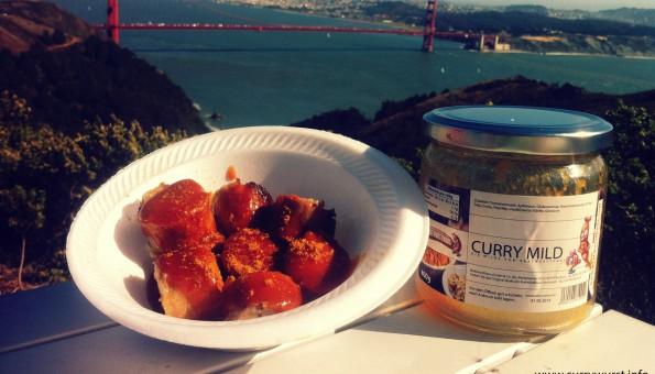 Bratwursthaus Currysauce in den USA