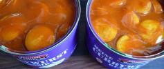 Currywurst aus der Dose