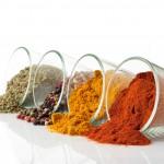 Gewürze einer Currysauce