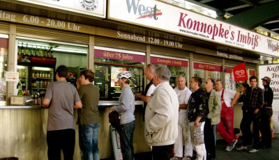Imbiss Konnopke in Berlin