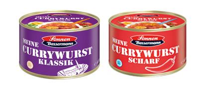 Currywurst Dosen von Sonnen Bassermann